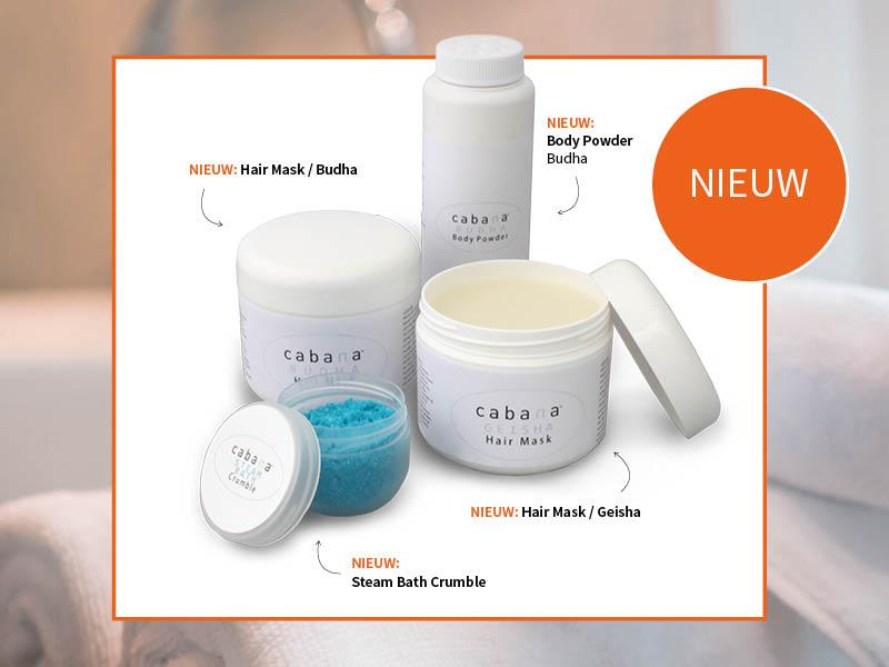 Nieuw nieuwe producten assortiment spa wellnessresort wellness vriendinnenuitje